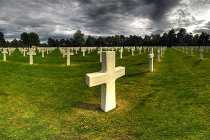 Virtualni sprehod - Ameriško vojaško pokopališče v Normandiji