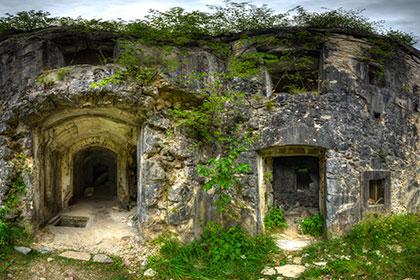 Virtualni sprehod - Trdnjava Fort Hermann